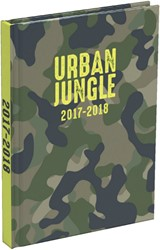 Schoolagenda 2018-2019 Urban Jungle Small NL 15,4x21,9cm.