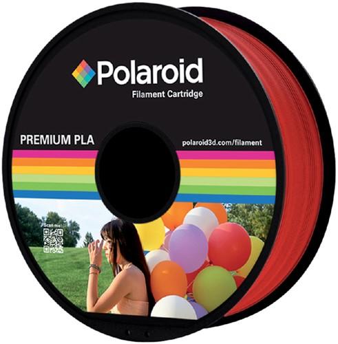 Polaroid 3D Filament 1.75mm PLA 1kg rood.