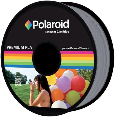 Polaroid 3D Filament 1.75mm PLA 1kg zilver.