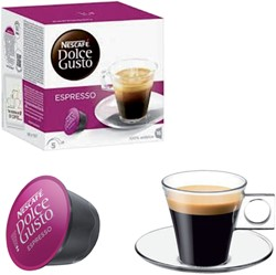 Koffiecups Dolce Gusto Espresso 16 cups.