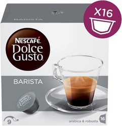 Koffiecups Dolce Gusto Espresso Barista 16 cups.