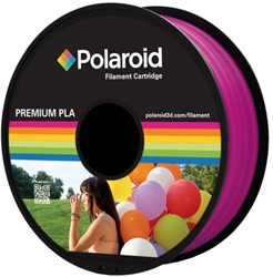 Polaroid 3D Filament 1.75mm PLA 1kg magenta.