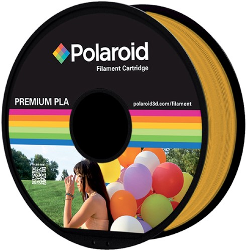 Polaroid 3D Filament 1.75mm PLA 1kg goud.