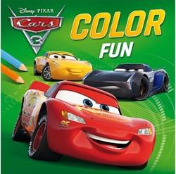 Kleurboek Disney color fun Cars 3.