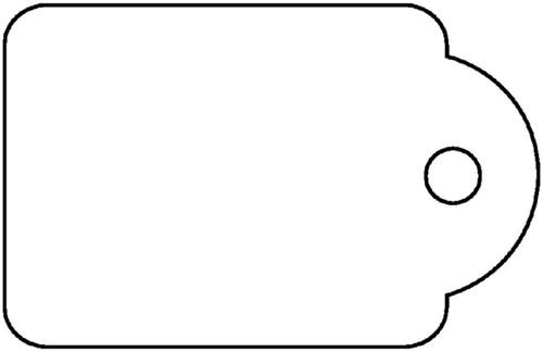 Label Apli karton nr392 36x53mm wit 500 stuks.