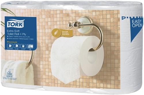 Toiletpapier Tork T4 110405 4-laags Premium 42 rollen.