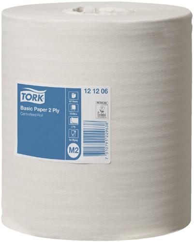 Tork poetsrol 20cm x 160m 2-laags systeem M2 6 rollen (121206).