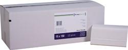 Handdoek PrimeSource Interfold 2-laags 21x24cm 2250 stuks.
