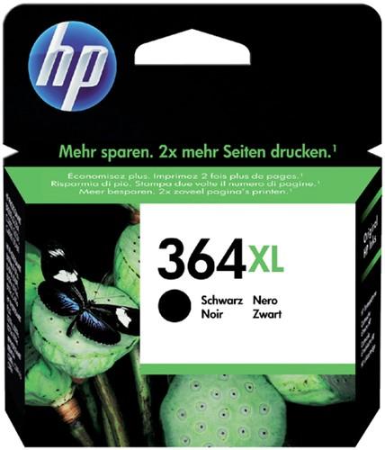 Inktcartridge HP CN684EE 364XL zwart HC.