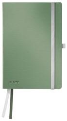 Notitieboek Leitz Style A5 zachte kaft zeegroen - 80 vel 100 grams gelijnd ivoorpapier 4487-00-53.