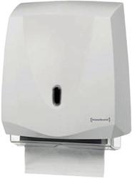 Dispenser Primesource handdoek Classic wit.