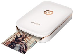 Fotoprinter HP Sprocket wit.