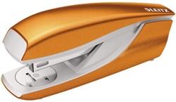 Nietmachine Leitz 5502 WOW 30 vel 24/6 oranje.