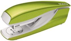 Nietmachine Leitz 5502 WOW groen metallic nieten 24/6 of 26/6 capaciteit 30 vel.