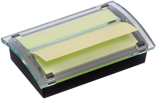 Memoblokdispenser 3M Post-it Z-Notes C2015 76x127mm zw/trans.
