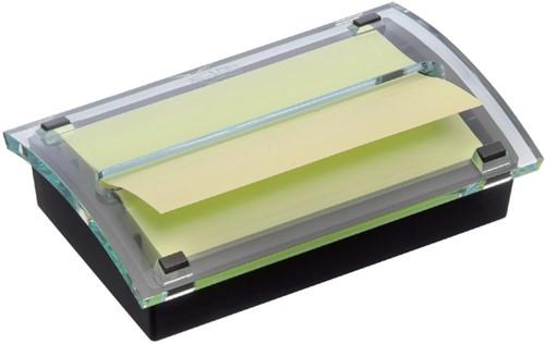 Memoblokdispenser 3M Post-it Z-Notes C2015 76x127mm zw/trans.