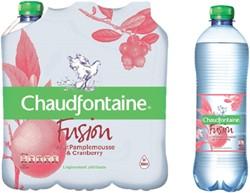 Water Chaudfontaine Fusion Pompelmoes petfles 50cl. Afname per 24 flessen.