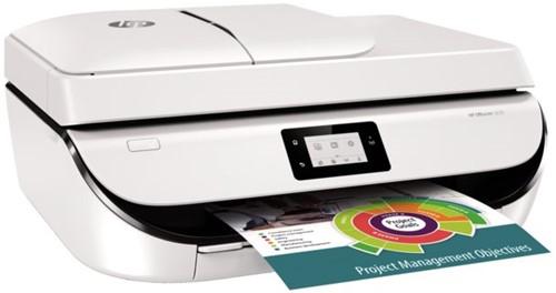 All-in-one inkjet printer HP OfficeJet 5232 Aktie:  incl. HP 302 cartridge zwart en 1 pak HP-Premium A4 papier.