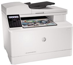 All-in-one kleurenlaserprinter HP LaserJet M181FW.