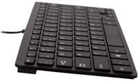Toetsenbord Ergo Compact Qwerty zwart.-1