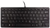 Toetsenbord Ergo Compact Qwerty zwart.