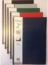 Plakboek Papyrus 330x230mm 40 vel assorti kleuren.