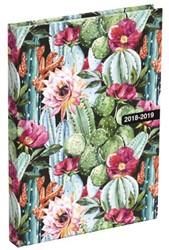 Schoolagenda 2018/2019 Cactus small NL 12,8x17,5cm.