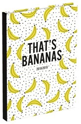 Schoolagenda 2018/2019 Bananas small NL 12,8x17,5cm.