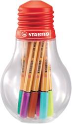 Fineliner Stabilo Point 88/12 mini color ideas assorti.