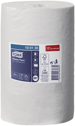Tork poetsrol 415 22cm x 120m 1-laags systeem M1 - 11 rollen (100130 voorheen 100132-e).