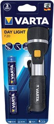 Zaklamp Varta Led day light met 2xAA batterijen.