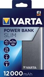 Powerpack Varta 12000mAh aluminium.