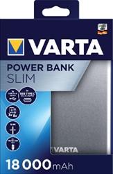 Powerpack Varta 18000mAh aluminium.