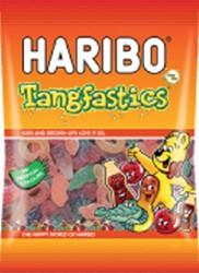 Haribo Tangfastics 75 gram. Afname per 5 pak.