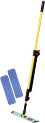 Pulse mop kit met navulling geel.