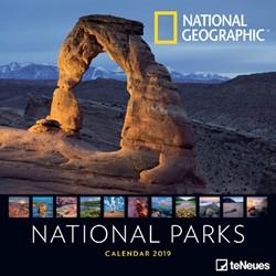 Kalender 2019 teNeues NG national parks.