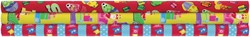 Sinterklaaspapier set a 3 rollen assorti inclusief stickervellen.