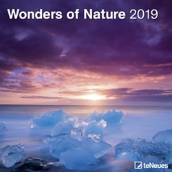 Kalender 2019 teNeues National Geographic wonders of nature 30x30cm.