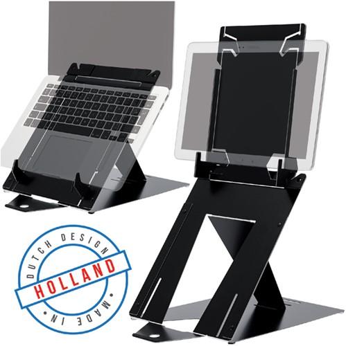Ergonomische laptopstandaard R-Go Tools Riser Duo.