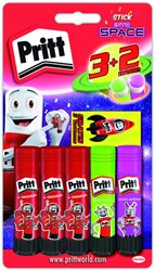 Lijmstift Pritt In to Space 11 gram 3+2 gratis.