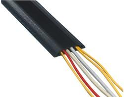 Kabelgeleider Flexibel 3 meter zwart.