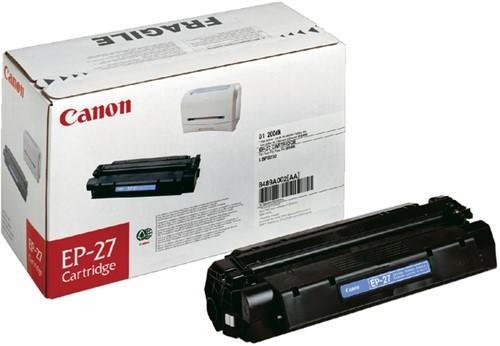 Toner Canon EP-27 zwart.
