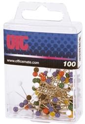 Landkaartspeld OIC assorti kleuren 100 stuks.