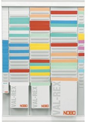 Planbord T-kaart Nobo nr 1.5 rood 36mm 100 stuks.