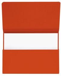 Pocketmap Jalema Secolor A4 270 grams karton rood. Afname per 50 stuks.