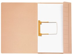 Clipmap Jalema Secolor A4 270 grams karton chamois. Afname per 10 stuks.