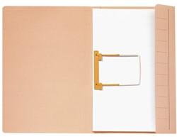 Clipmap Jalema Secolor A4 270 grams karton chamois. Afname per 50 stuks.