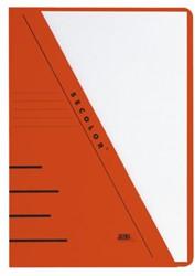 Insteekmap driehoeksmap Jalema Secolor A4 270 grams karton rood. Afname per 10 stuks.