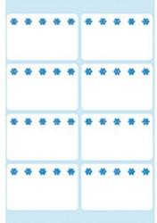 Etiket Herma #3770 26x40mm tbv diepvries wit 10 stuks.  Afname per 5 doos.