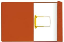Clipmap Jalema Secolor A4 270 grams karton rood. Afname per 10 stuks.